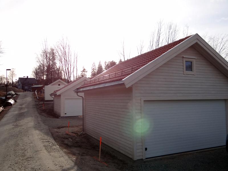 Reparasjon av to garasjer